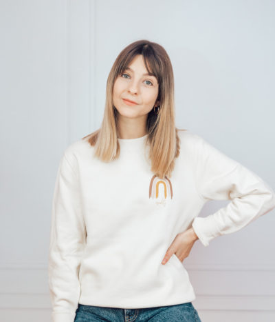 Equality Pullover – white