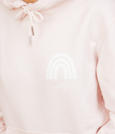 Equality Hoodie – candy pink
