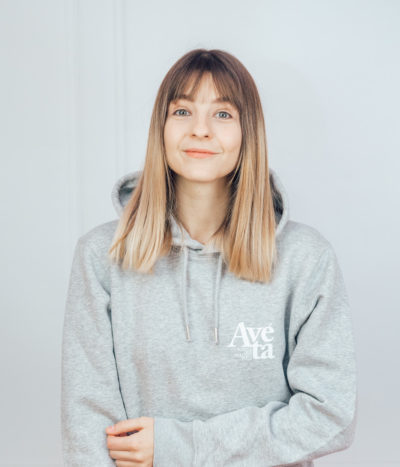 Avéta Hoodie – heather grey