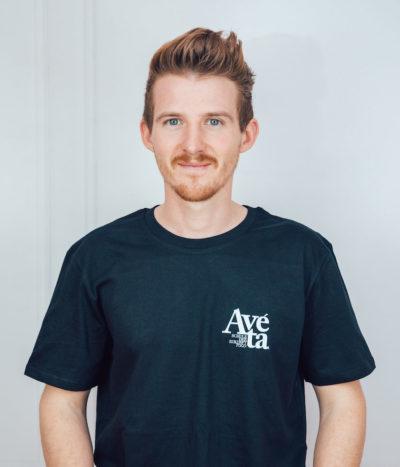 Avéta T-Shirt – schwarz