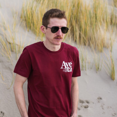 Avéta T-Shirt – weinrot